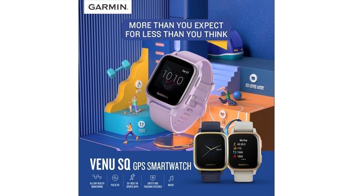 Garmin Venu Sq series - Exhibit Tech Update