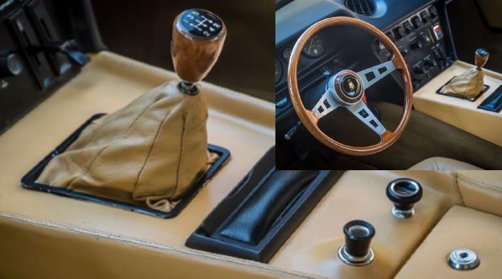 Lamborghini Jarama GT  interior - Exhibit Magazine