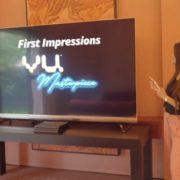 The Vu Masterpiece TV - Exhibit Tech Magazine