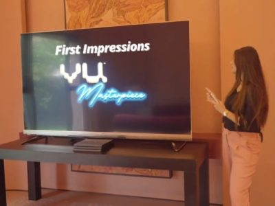 The Vu Masterpiece TV - Exhibit Tech Magazine