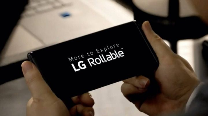 LG CES 2021 Rollable Phone