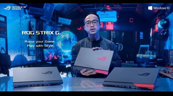 ASUS ROG CES 2021 Scar Strix 17 Gaming