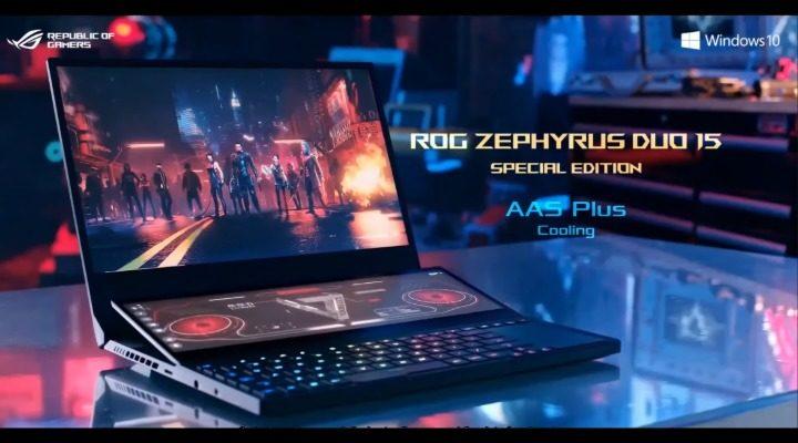 ASUS ROG CES Zephyrus Duo Gaming