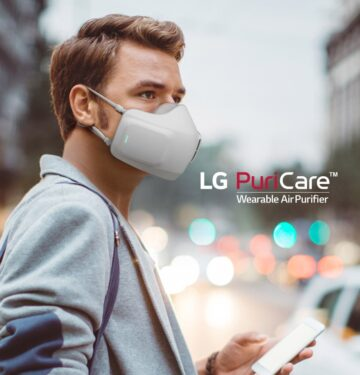 LG's PuriCare Face Mask Now Comes With Built-In Mic And Speakers