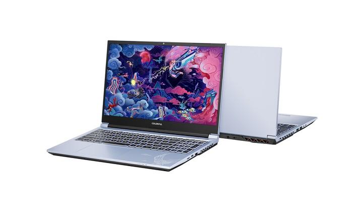 Colourful Laptop - Exhibit Tech