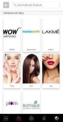 Trell App Brands