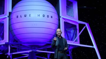 Jeff Bezos Offers NASA $2 Billion For Moon Mission Contract