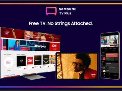 samsung tv plus streaming service