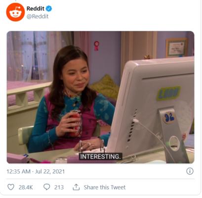 Reddit response to twitter - Exhibit