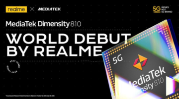 Realme India Geared Up To Launch A First-ever MediaTek Dimensity 810 Powered Smartphone In India