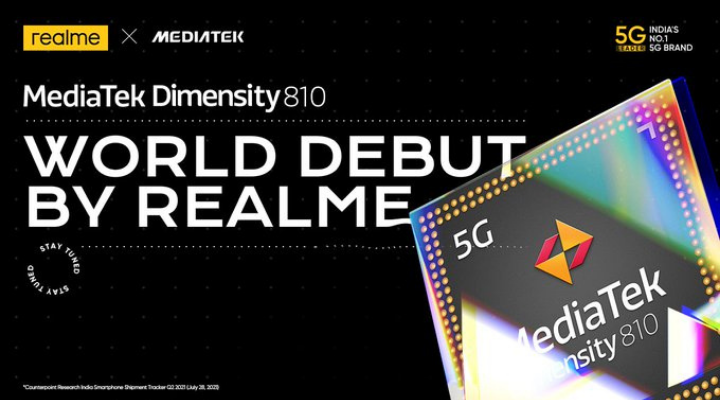 Realme India Confirms To Launch A First-ever Mediatek 810 Powered Smartphone In India