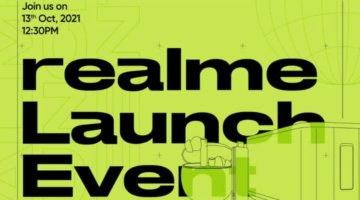 List of AIoT Products Realme is Going to Launch on October 13th Launch Event