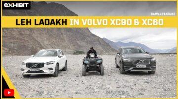 Leh Ladakh in Volvo XC90 & XC60 I Luxury Road Trip